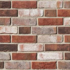 DYKBRAND braunweiss-bunt NF, 240x115x71 mm, hand-molded bricks