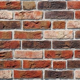 DYKBRAND flamisch-bunt NF, 240x115x71 mm, hand-molded bricks
