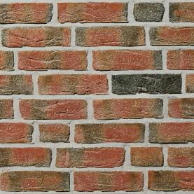 FEHNBRAND buntgeflammt NF, 240x115x71 mm, hand-molded bricks