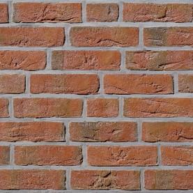 FEHNBRAND hellrot-bunt NF, 240x115x71 mm, hand-molded bricks