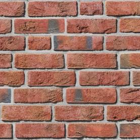 FORMBACK hellrot-bunt 1/2 NF, 240x54x71 mm, hand-molded bricks