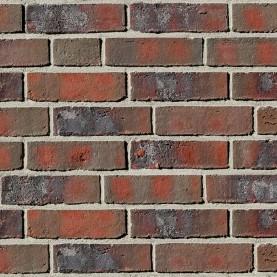WIESMOOR kohle-bunt DF, 240x115x52 mm, hand-molded bricks