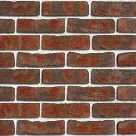 FORMBACK buntgeflammt NF, 240x115x71 mm, hand-molded tiles