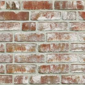 GEESTBRAND bunt-weiss NF, 240x115x71 mm, hand-molded tiles