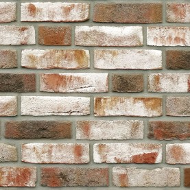 GEESTBRAND grauweiss-bunt NF, 240x115x71 mm, hand-molded tiles