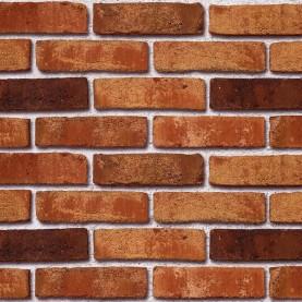 MOORBRAND torf-bunt NF, 240x115x71 mm, hand-molded tiles