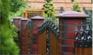 Fence caps
